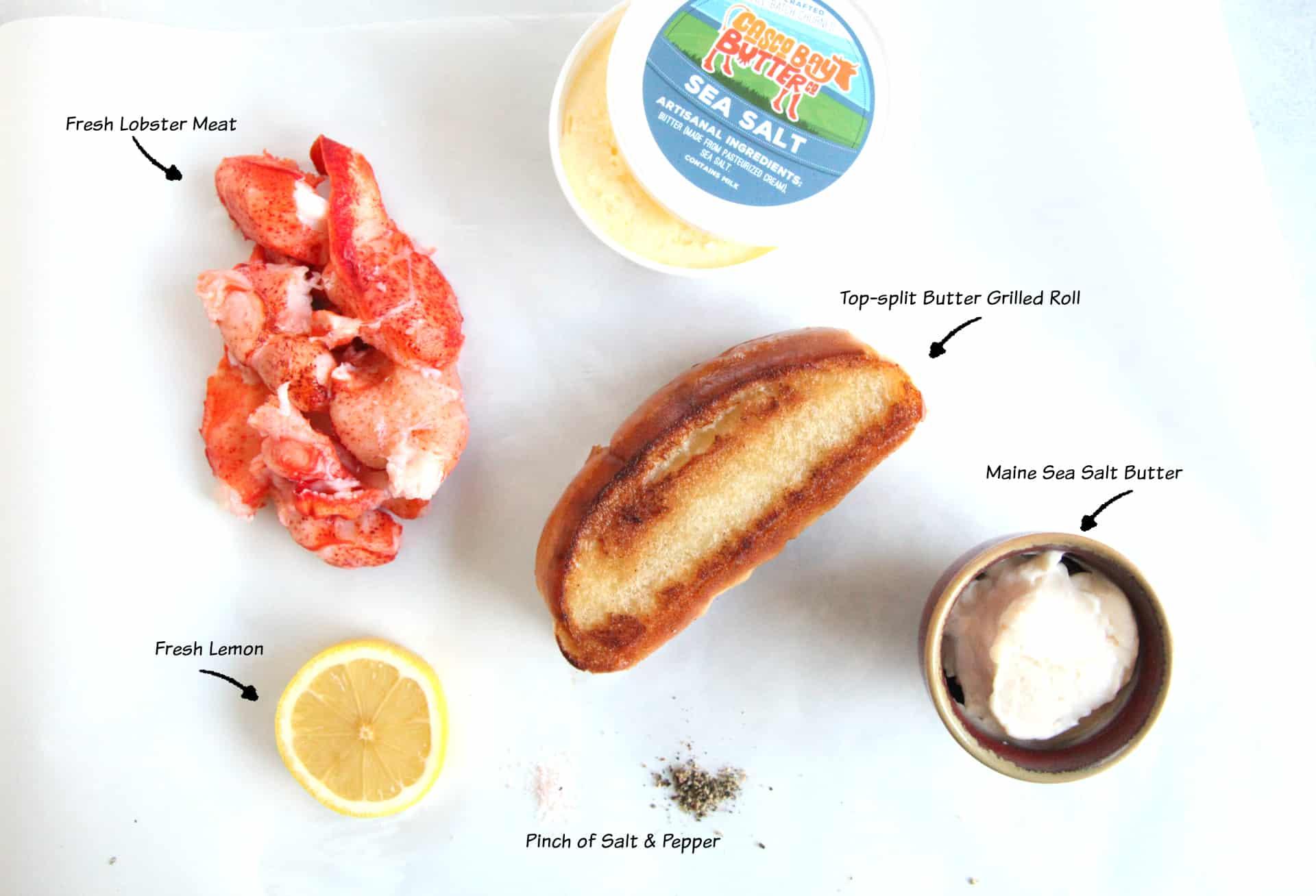 Lobster Roll Ingredients