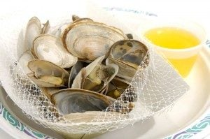 Cooking Steamer Clams
