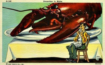 Lobster Myths Big Lobsters