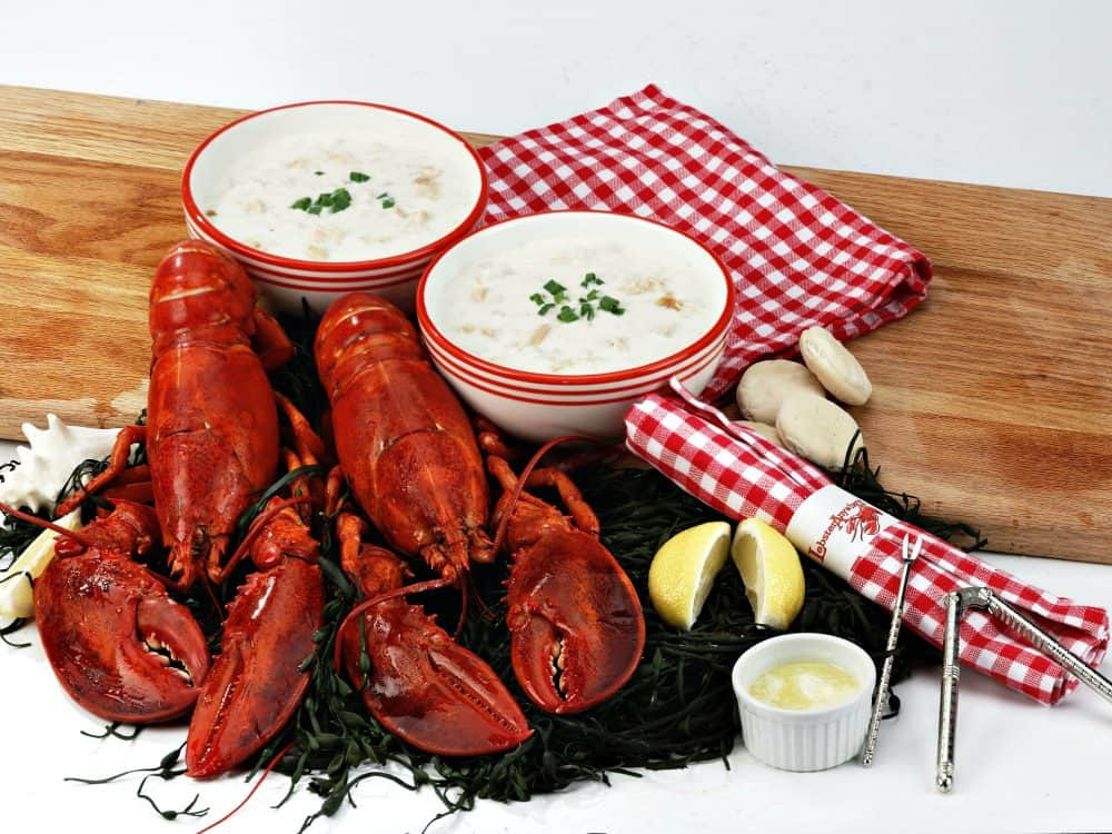 Boston Live Lobster Dinner