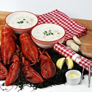 Boston Live Lobster Dinner