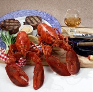 Bostonian Lobster Dinner