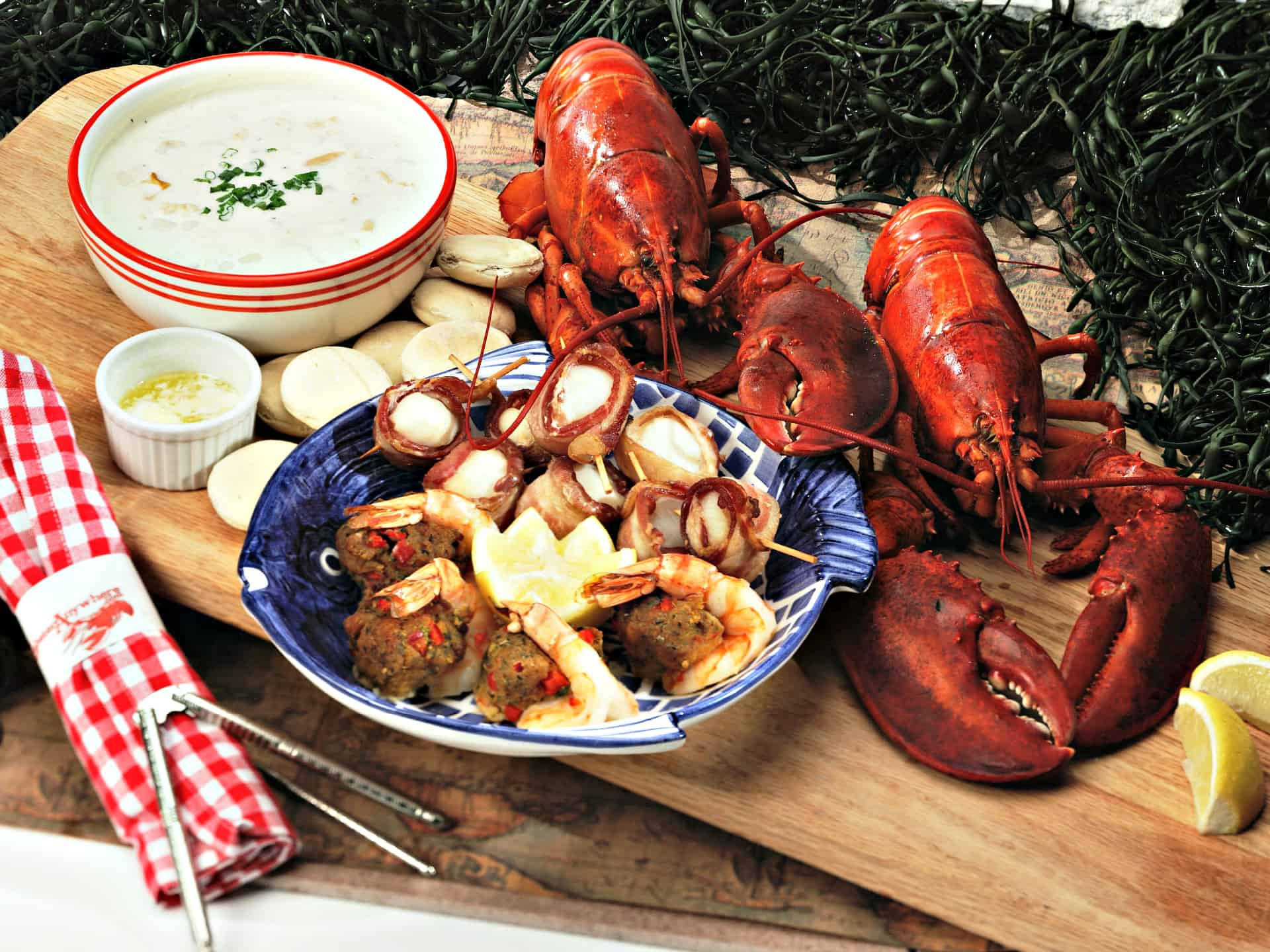 Seafood Gift Basket Delivery Lobster And Fresh Seafood Gifts