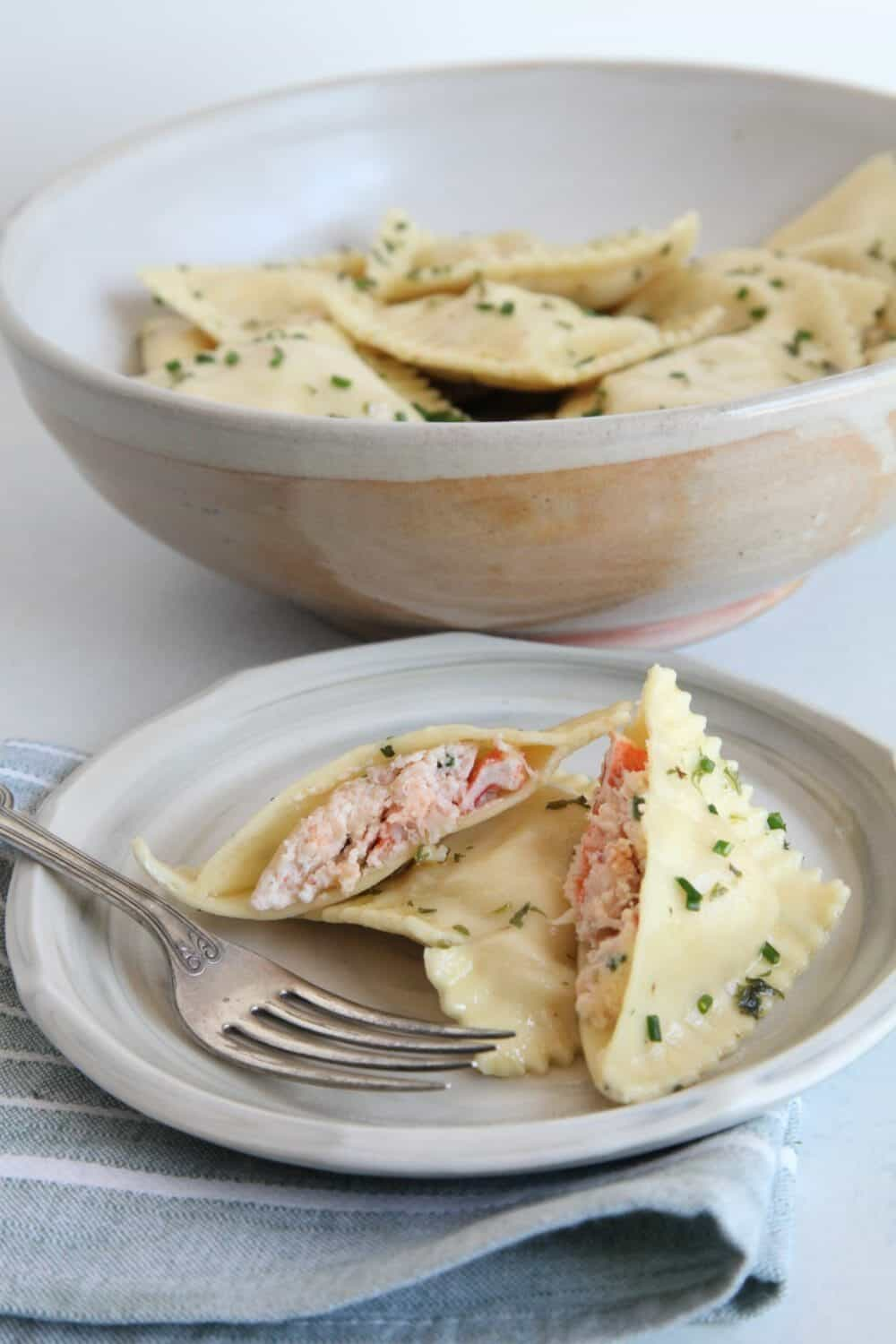 Best Lobster Ravioli