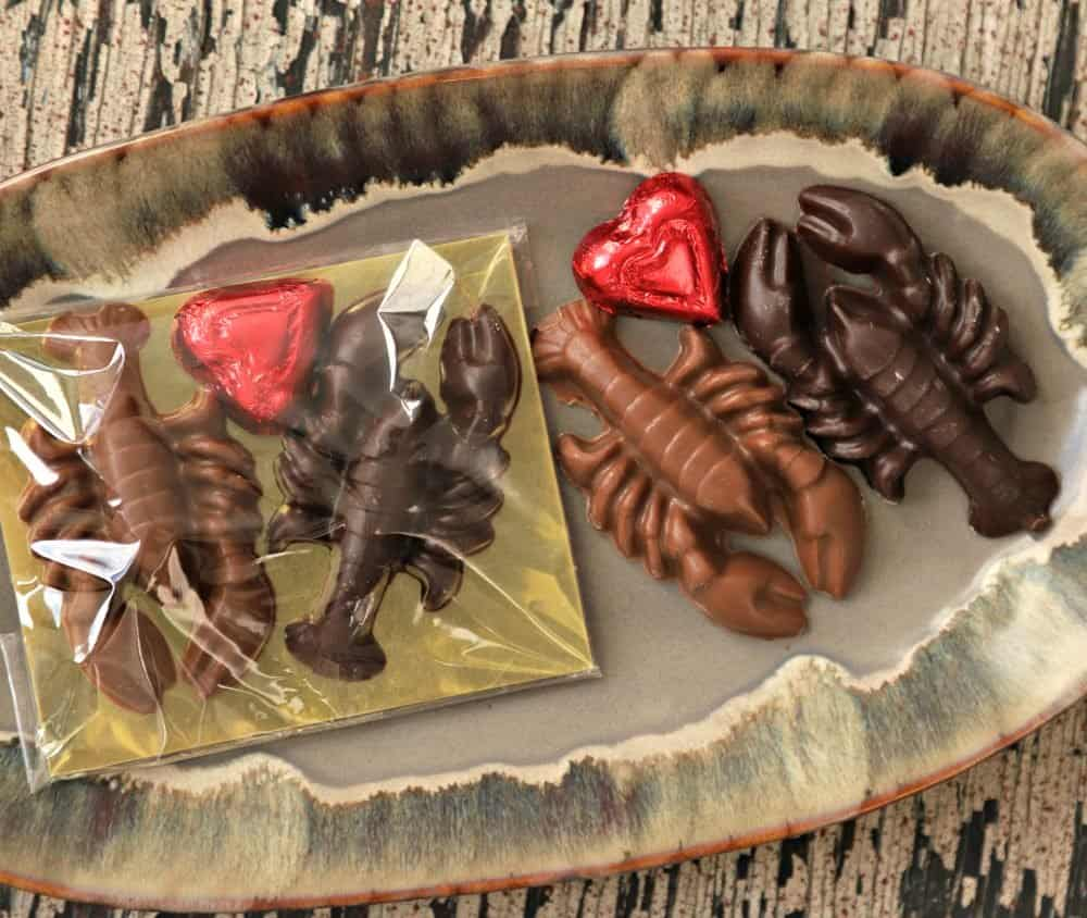 Lobsters Made of Chocolate