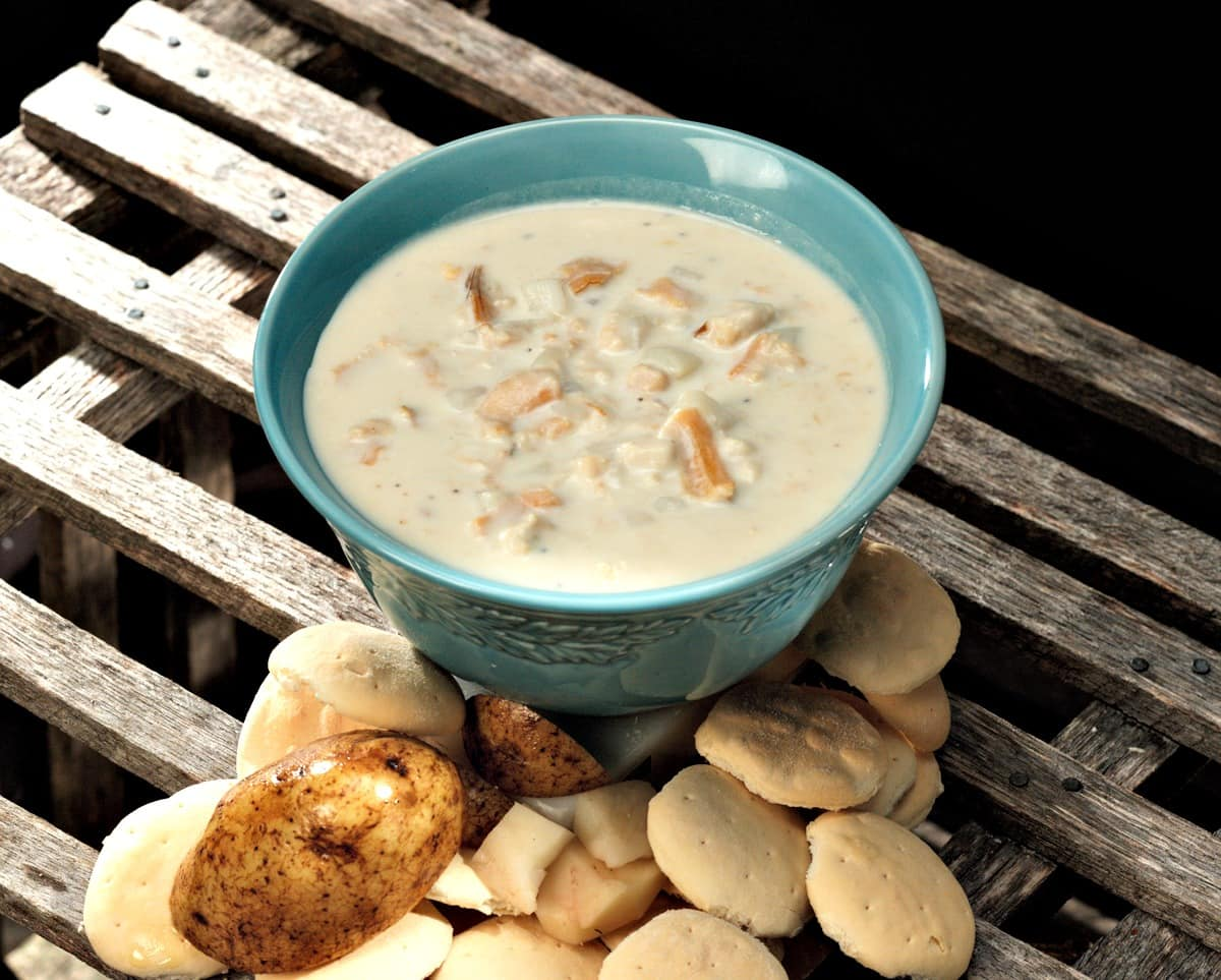 Order New Engand Clam Chowder