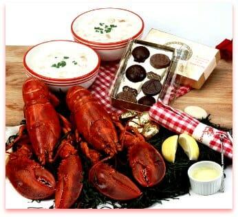 Romantic Lobster Dinner Valentine's Day