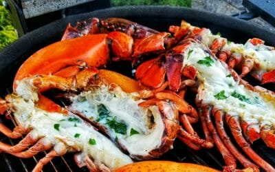 How to Grill Lobsters