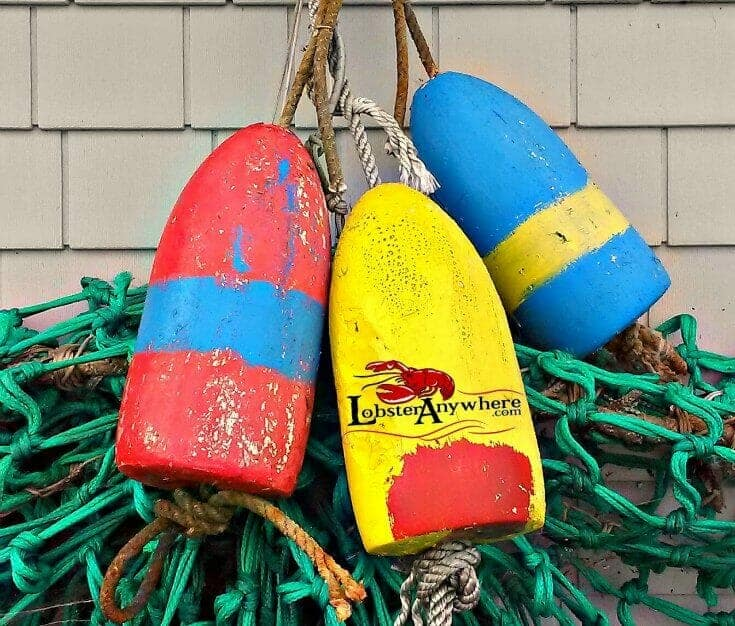 Painted Lobster Bouys