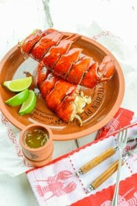 Lobster Tails with Lime Butter