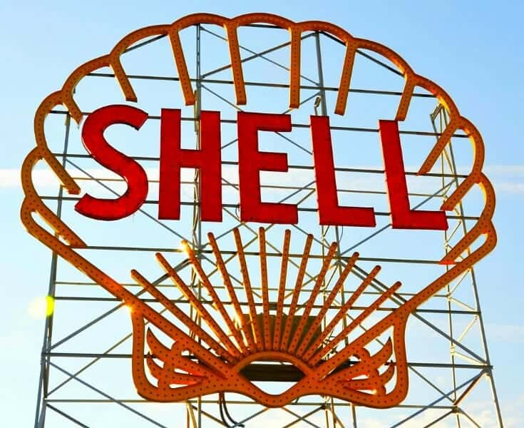 Shell Scallop Sign