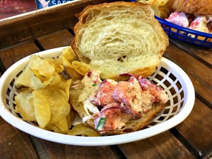 Lobster Croissant Sandwich