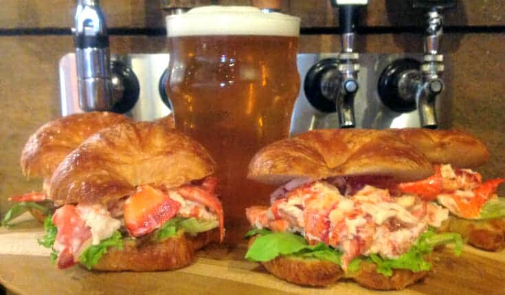 croissant lobster roll