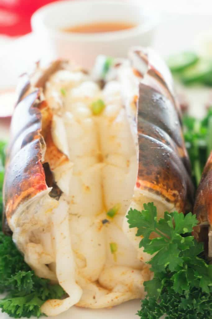 Broiled Lobster Tails Jalapeno Butter Recipe