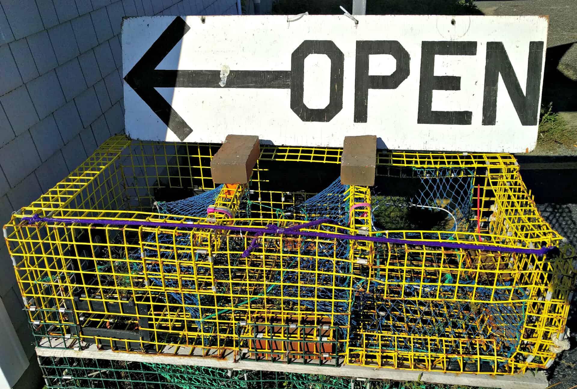 Lobster Online Store Open