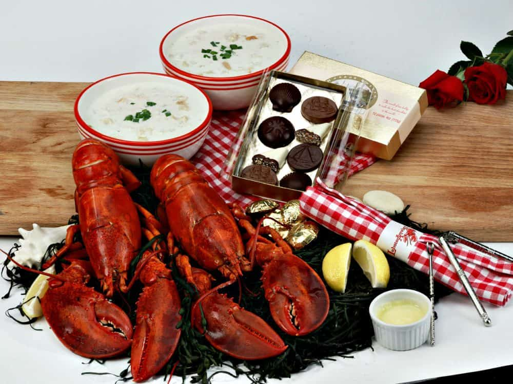 Romantic Lobster Dinner for Two