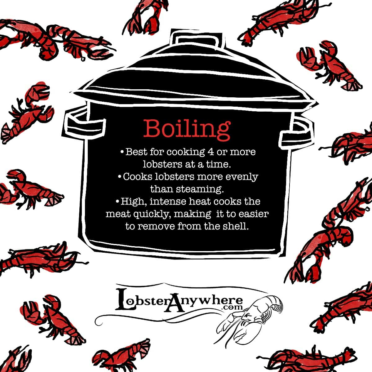 How to Boil Live Lobster