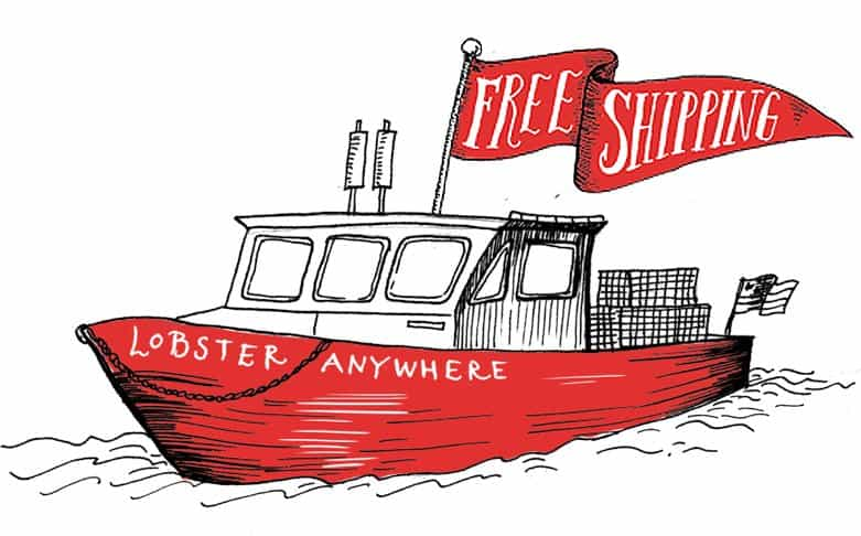 Free Shipping Lobster