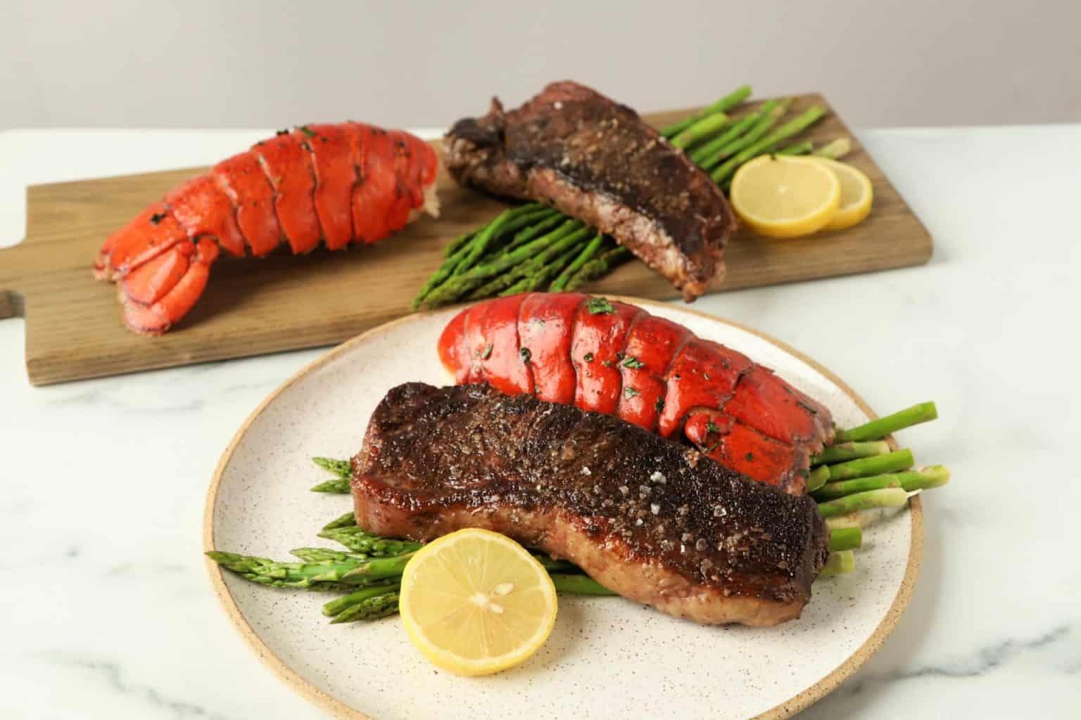 Steak-Lobster Surf and Turf