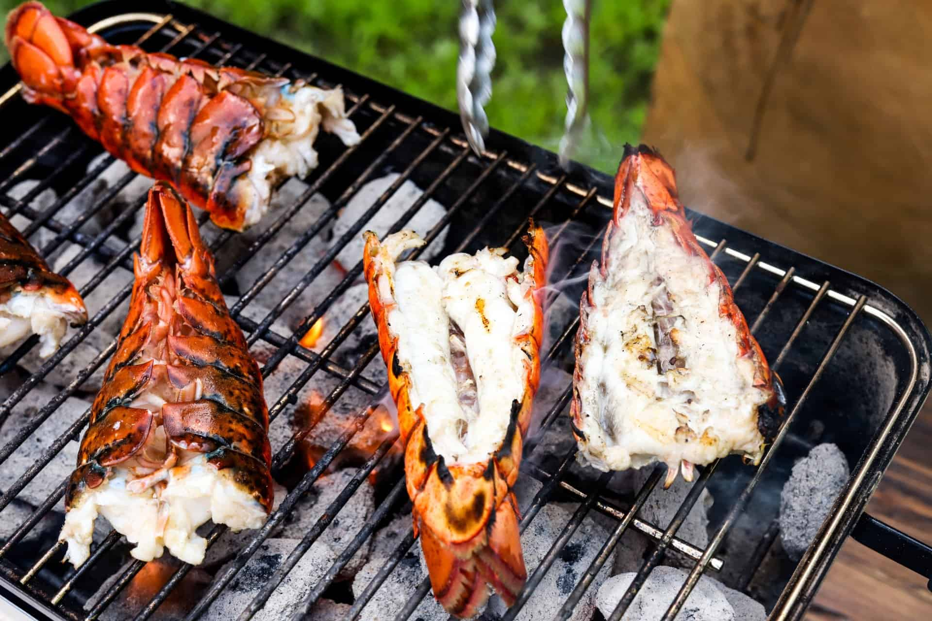 Lobster Tails for Tailgating